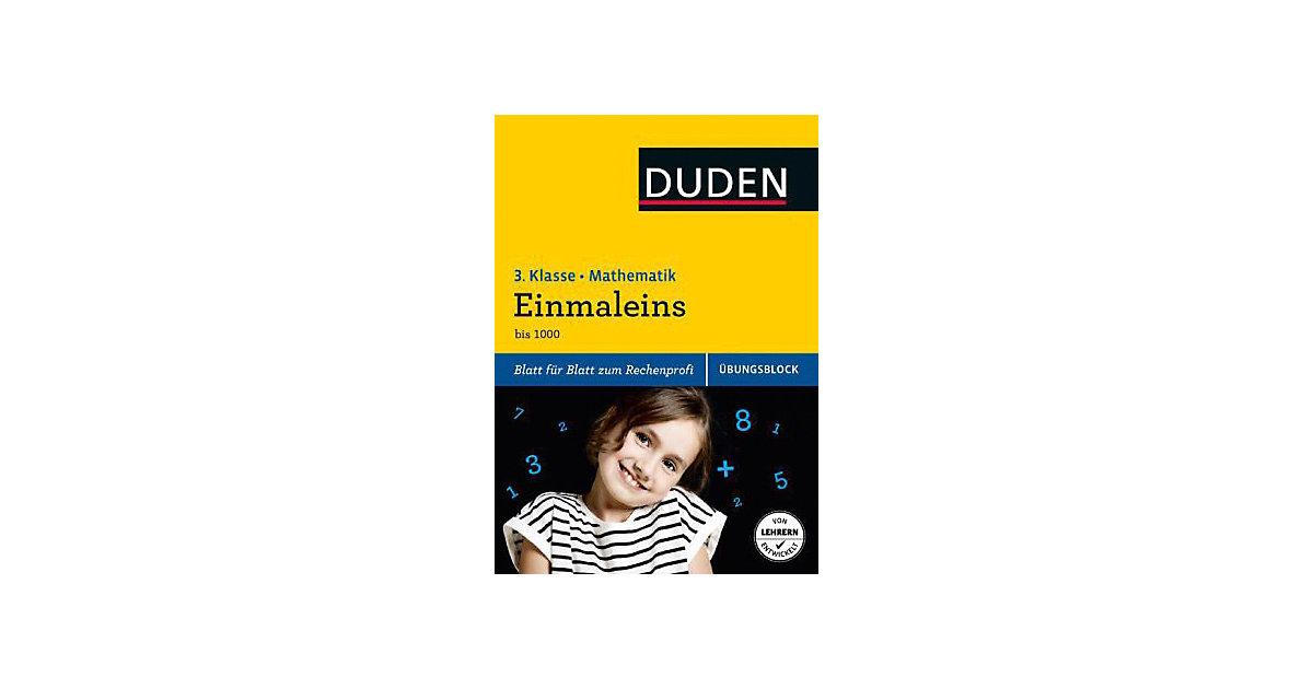 Buch - Duden Einfach klasse in Mathematik, Übungsblock: Einmaleins, 3. Klasse