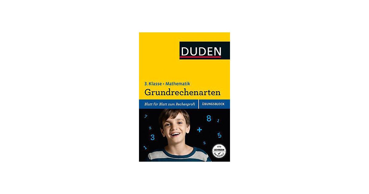 Buch - Duden Einfach klasse in Mathematik, Übungsblock: Grundrechenarten, 3. Klasse