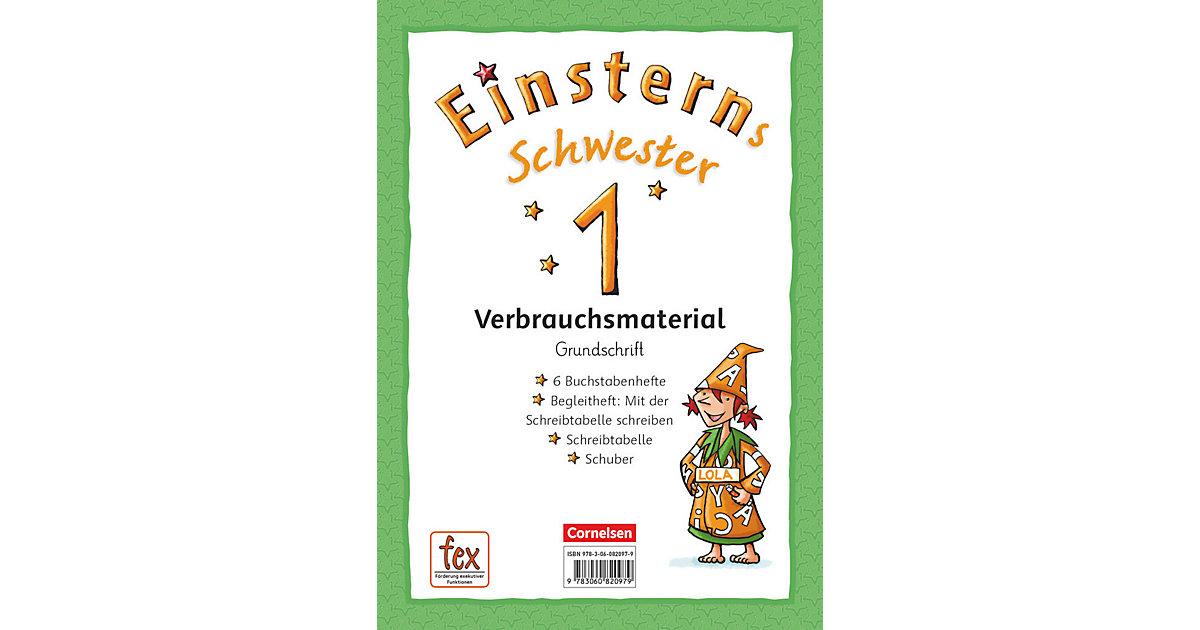 Buch - Einsterns Schwester, Erstlesen - Zu allen Ausgaben 2014/2015: 1. Schuljahr - Grundschrift: 6 Buchstabenhefte und Begleitheft