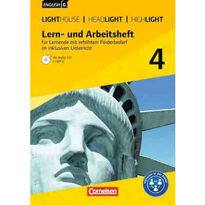 English G Lighthouse / English G Headlight / English G Highlight - Allgemeine Ausgabe: 8. Schuljahr, Lern- und Arbeitsheft für