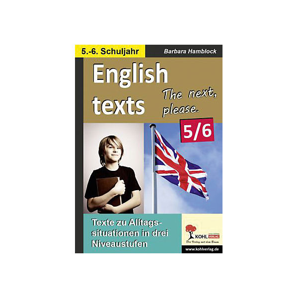 English texts - The next, please. / 5.-6. Schuljahr