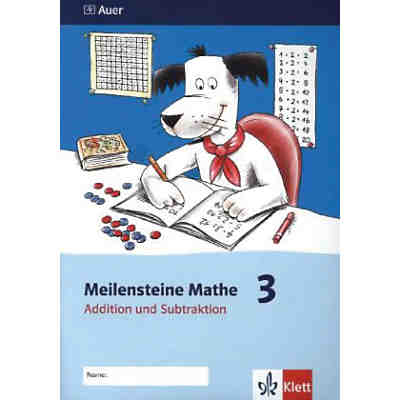 Meilensteine Mathe: 3. Schuljahr, Addition und Subtraktion [Att8:BandNrText: 7020]