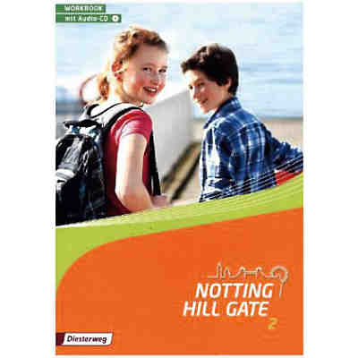Notting Hill Gate, Ausgabe 2014: 6. Schuljahr, Workbook, m. Audio-CD