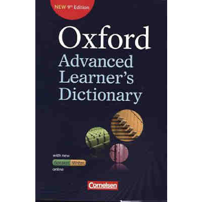Oxford Advanced Learner's Dictionary (9th Edition) mit Online-Zugangscode [Att8:BandNrText: 8018057]