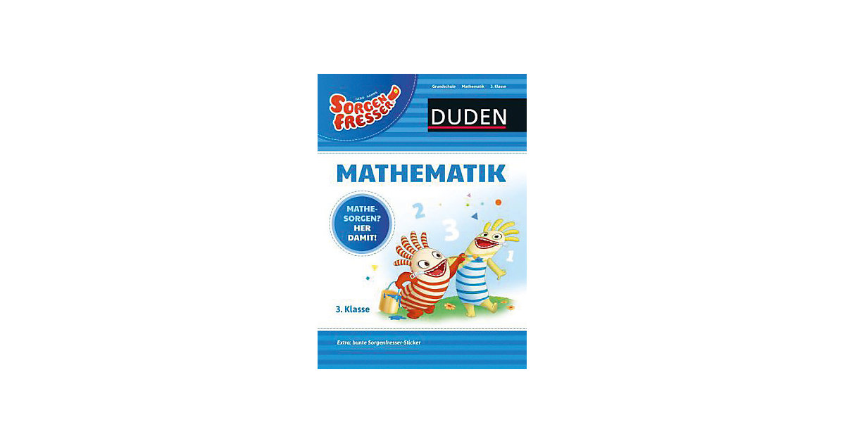 Buch - Sorgenfresser Mathematik 3. Klasse