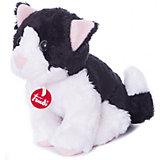 Trudinin Katze schwarz/weiß 15cm