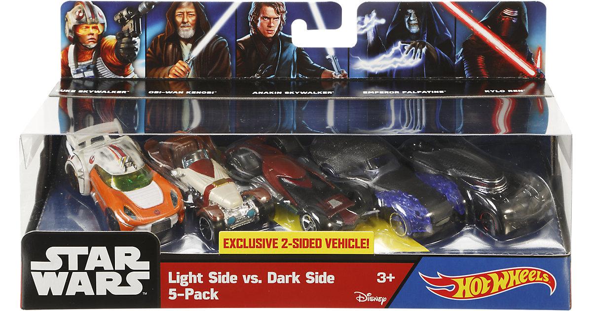 Hot Wheels Star Wars Das Erwachen der Macht - Character Car 5er Pack