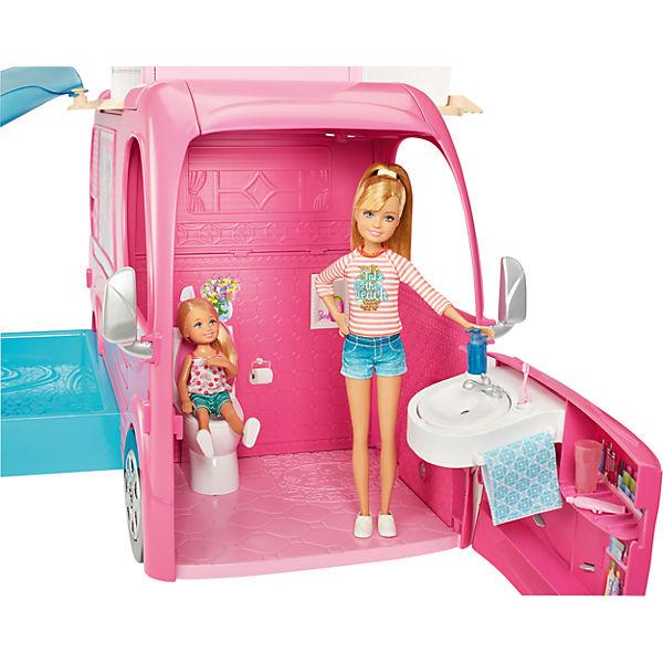 super ferien camper + chic barbie, barbie | mytoys
