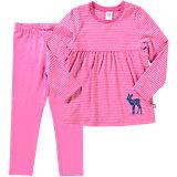 SANETTA Schlafanzug für Mädchen Organic Cotton