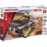 Раллийная машина с мотором (25 моделей), Meccano