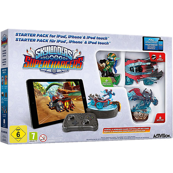PC Skylanders SuperChargers Starter Pack (nur iOS)