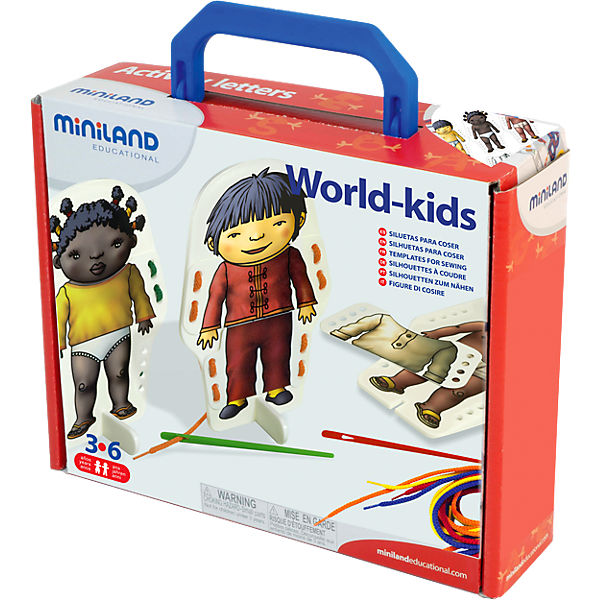 World Kids Fädelspiel