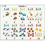 Rahmenpuzzle 20 Teile Rechenpuzzle (Zahlen 1-10)