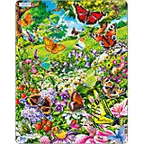 "Пазл ""Бабочки"", 42 детали, Larsen"