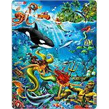 Rahmenpuzzle 32 Teile Meerjungfrau Unterwasserwelt
