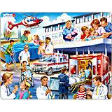 Rahmenpuzzle 25 Teile Krankenhaus