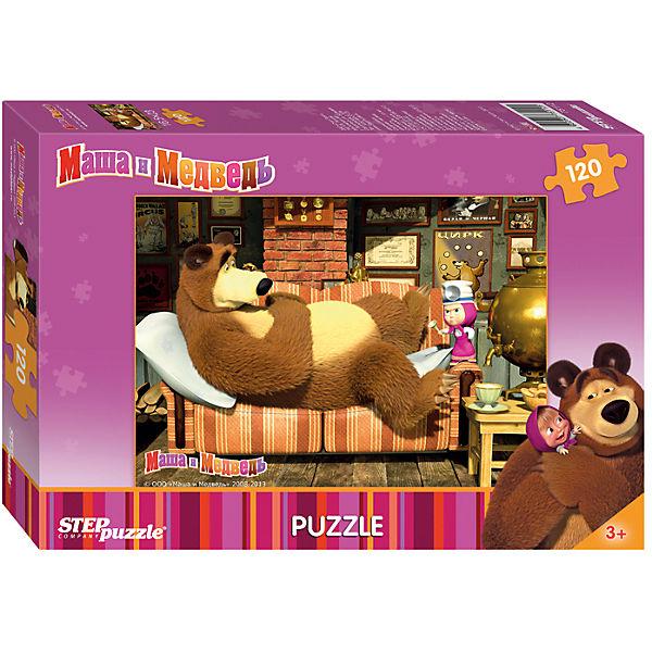 "Пазл ""Маша и Медведь"", 120 деталей, Step Puzzle"