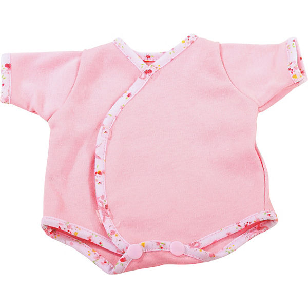 Puppenkleidung Body, classic pink 30-33 cm