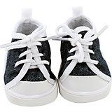 Puppenkleidung Schuhe, sneaker denim 30- 33 cm