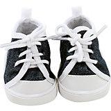 Puppenkleidung Schuhe, sneaker denim, 42 cm - 50 cm