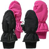 NAME IT Handschuhe Doppelpack für Mädchen