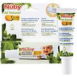 Fingerzahnbürste All Natural und Kinderzahncreme, 20 g