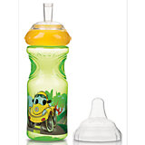 Trinkflasche Emotion Sport-Sipper YELLOW CAR, 300 ml