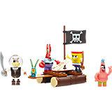 Mega Bloks SpongeBob Schwammkopf - Piraten Figuren-Pack