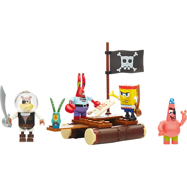 Mega Bloks SpongeBob Schwammkopf - Piraten Figuren-Pack
