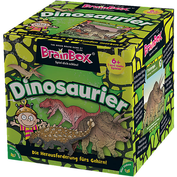 Brain Box - Dinosaurier
