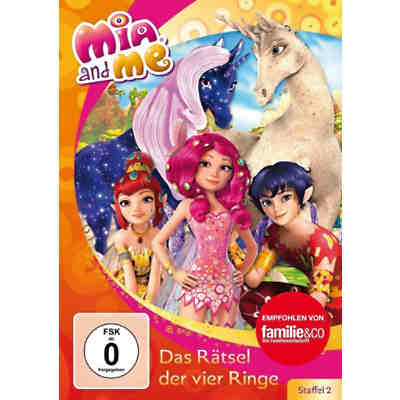 DVD Mia and Me - Rätsel der vier Ringe