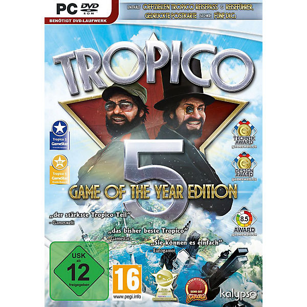 PC Tropico 5 Game of the Year Edition