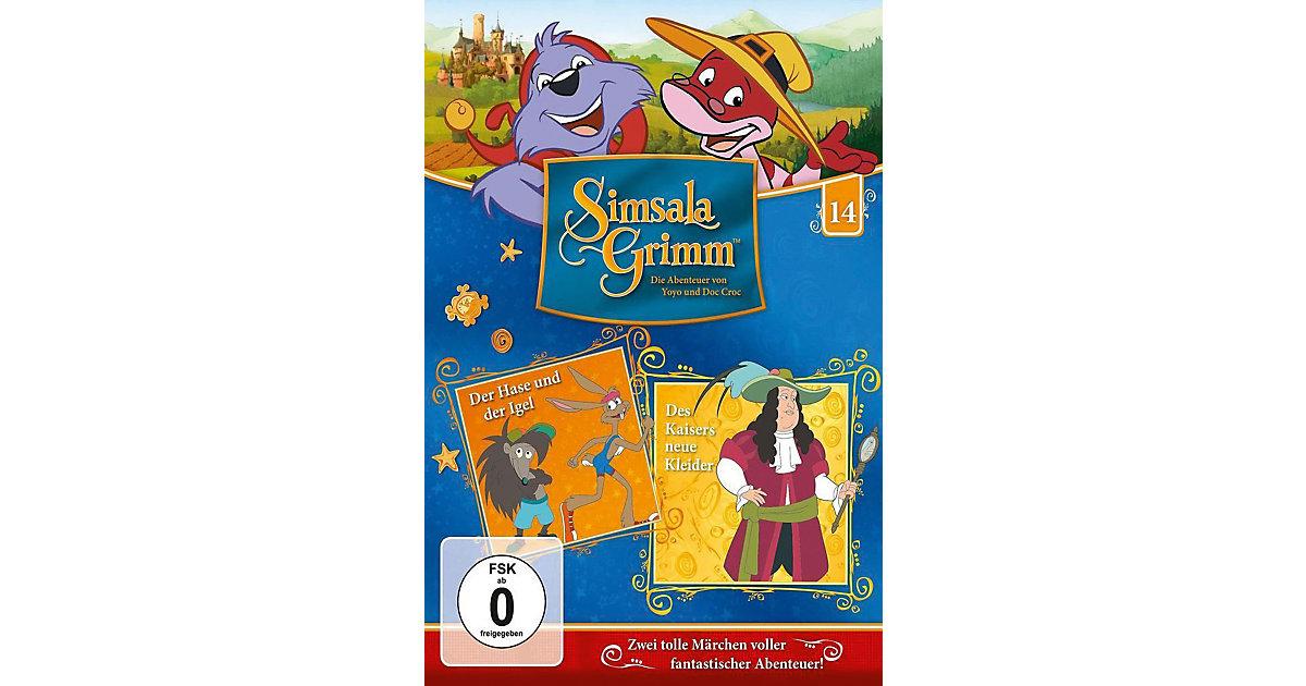 DVD SimsalaGrimm 14 - Der has u.d.Igel/Des Kais...