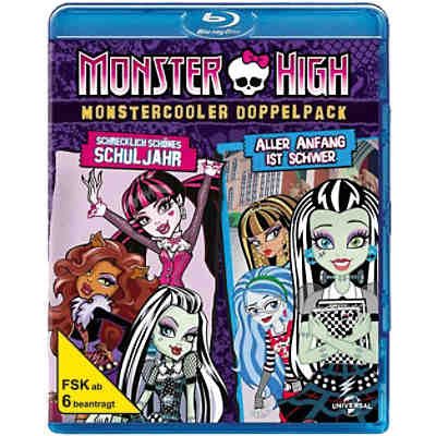 BLU-RAY Monster High - Monstercooler Doppelpack