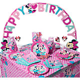 Partyset Minnie Mouse Dots, 56-tlg.