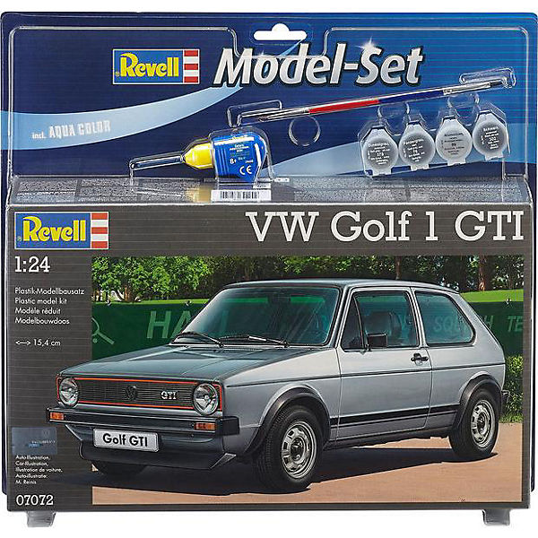 Revell Modellbausatz - Model Set VW Golf 1 GTI