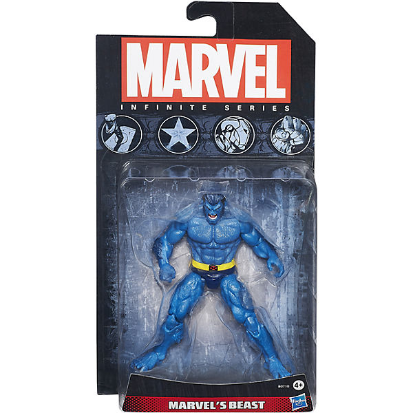 Коллекционная фигурка Марвел- Зверь, 9,5 см, Marvel Heroes