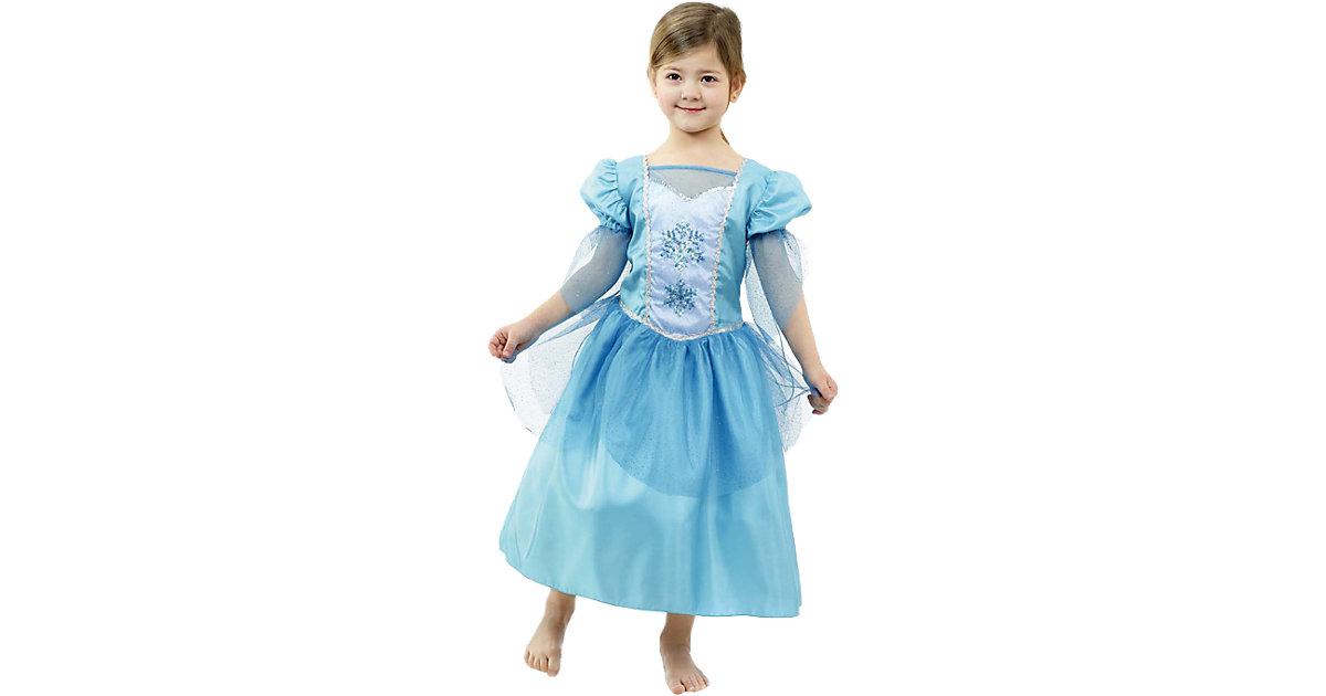 Kostüm Prinzessin Snowflake Gr. 104 Mädchen Kleinkinder