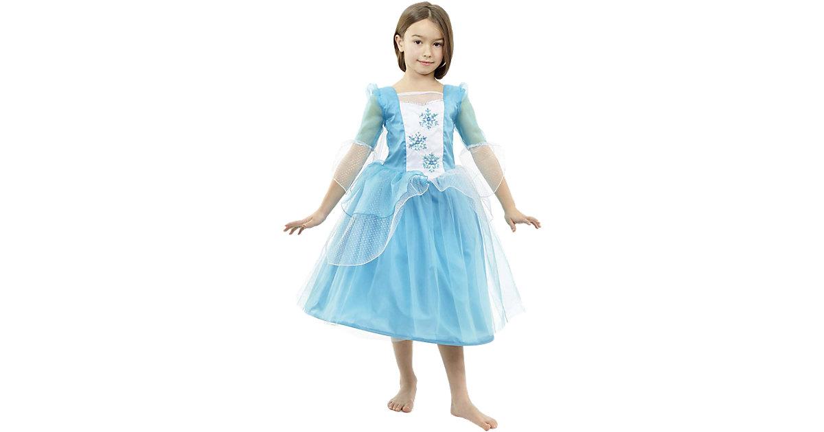 Kostüm luxuriöse Prinzessin Snowflake Gr. 128 Mädchen Kinder