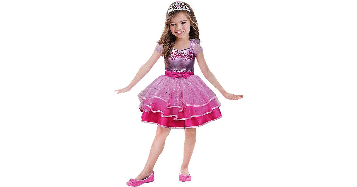Kostüm Barbie Ballet Gr. 134 Mädchen Kinder