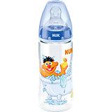 Weithals Flasche FIRST CHOICE+, PP, 300 ml, Gr. 2 M, Sesamstrasse, blau