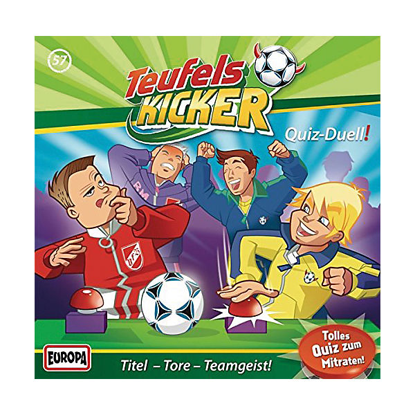 CD Teufelskicker 057 - Quiz-Derby
