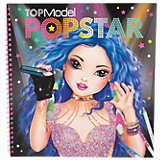Popstar Malbuch Top Model
