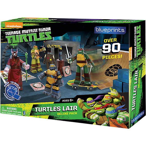 Kreativset Turtles Versteck Deluxe Pack