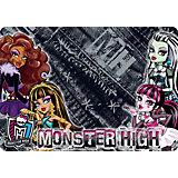 """Подкладка А4 """"Monster High"""" для лепки и рисования"""