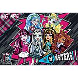 """Подкладка на стол А3 """"Monster High"""" для лепки и рисования"""