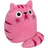 Dicke Katze Plüsch Bubblegum, 16 cm