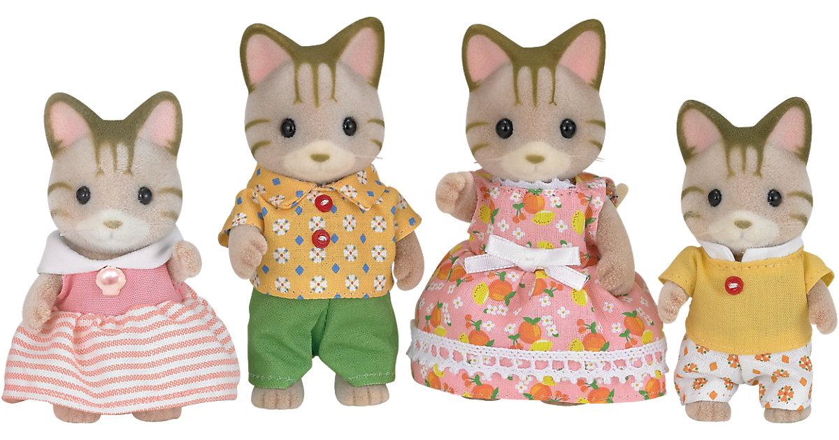 Sylvanian Families Tigerkatzen: Familie Fauch-Fauch