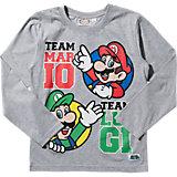 SUPER MARIO Langarmshirt für Jungen