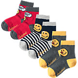 SMILEY WORLD 3er-Pack Socken für Jungen